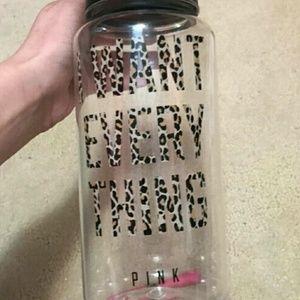 ☆RARE☆ VS PINK Cheetah Water Bottle